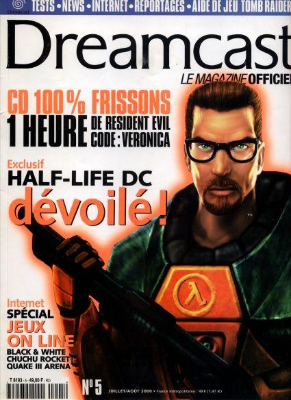 Half-Life Dreamcast Versus book scans? | ASSEMbler - Home of